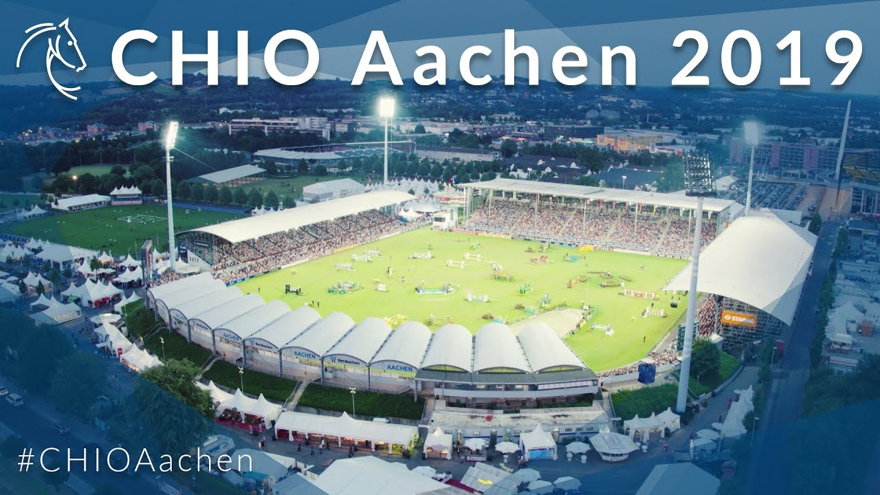 Experience the new training feeling from July 16 to 21 at CHIO Aachen 2019